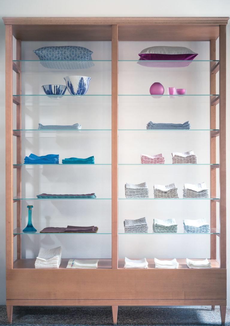 display fabrics glass