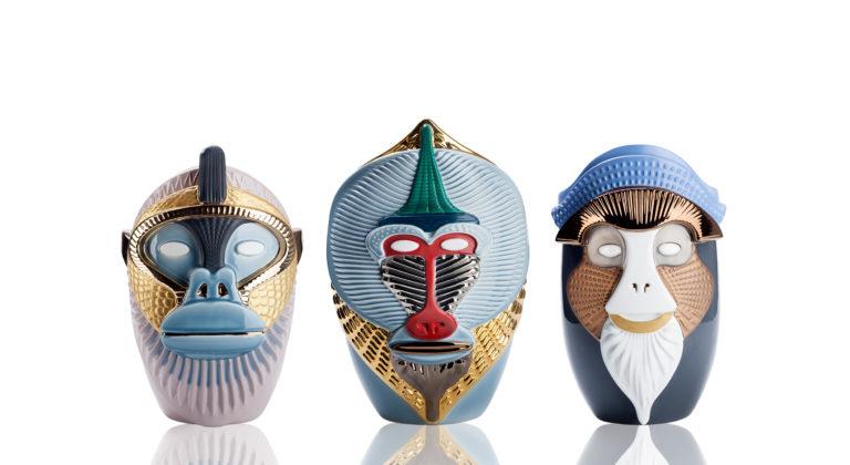 Primates Elena Salmistraro Bosa vases