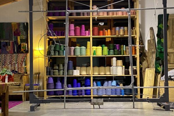 Opere d'arte di lana